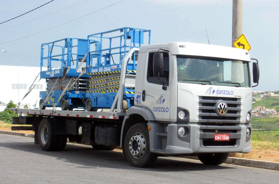 Caminhão Plataforma PAS6000 - Transporte Pesado