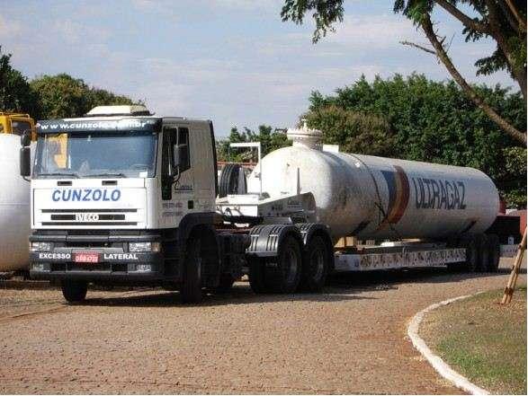 Prancha 02 eixos - Transporte Pesado
